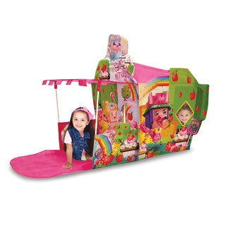 Play Hut Cubetopia Foxberry Gardens Playhouse, Pink,