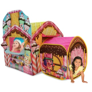 Playhut Cubetopia Cupcake Bakery Pink Playhouse Tent