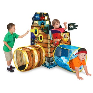 Play Hut Cubetopia Island Blue Fort Playhouse