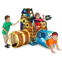 Play Hut Cubetopia Island Blue Fort Playhouse