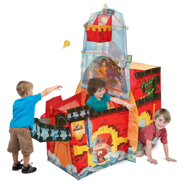 Play Hut Cubetopia Jaxx Ship Red Playhouse