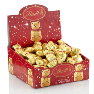 Lindt Gold Bear Mini Figures Chocolates (Case of 60)