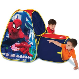Playhut Hide About Spider-Man Tent With Tunnel Port