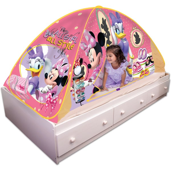Shop Playhut Minnie Mouse Polyester Bed Tent Playhouse
