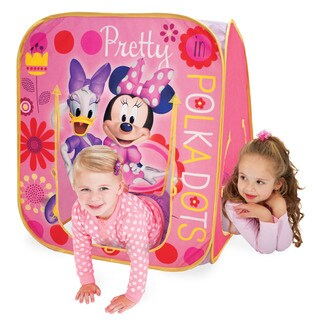Play Hut Minnie Mouse Hide 'N Play Pink Playhouse