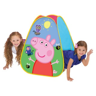 Playhut Peppa Pig Classic Hideaway Playhouse Pink 28 inches x 30 inches x 28 inches Tent