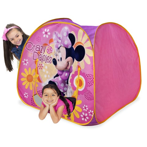 Playhut Minnie Mouse Dazzling Cottage Pink 38-inch x 34-inch x 38-inch Playhouse