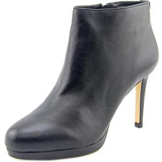 Michael Michael Kors Women's 'Sammy Platform Ankle Bootie' Black Leather Boots