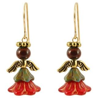 Israfel Angel Earrings