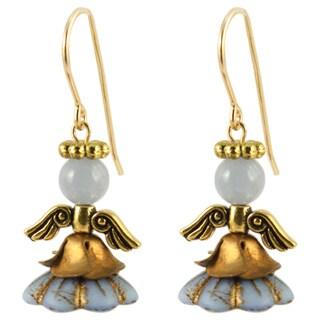 Nisroc Angel Earrings