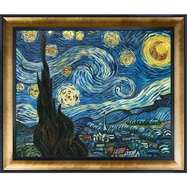 Home Decor Collection Here Large Painting Impressionist Cheap Wall Art Handmade Van Gogh Reproductions Of Famous Paintings Starry Sky On Canvas 2019 New Fashion Style Online