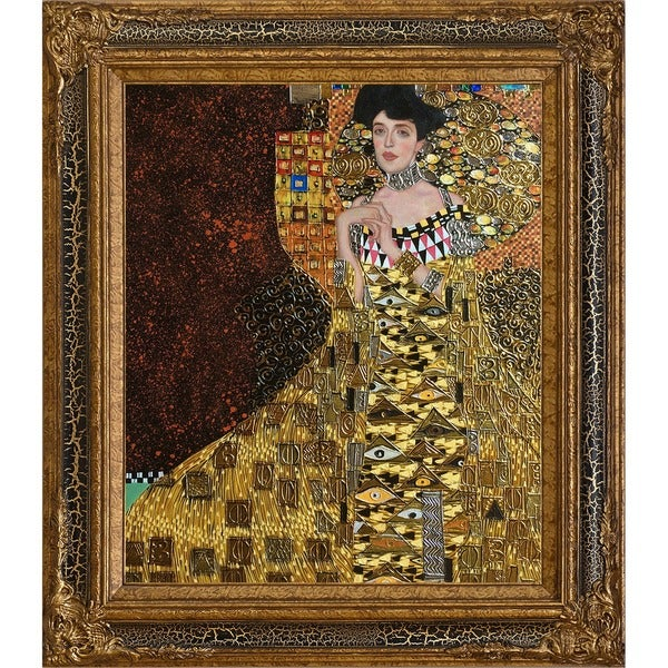 gustav klimt 39 portrait of adele bloch bauer i luxury line. Black Bedroom Furniture Sets. Home Design Ideas