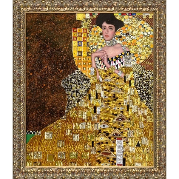 shop klimt 39 portrait of adele bloch bauer i 39 hand painted. Black Bedroom Furniture Sets. Home Design Ideas