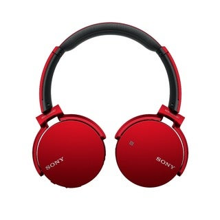 Sony XB650BT EXTRA BASS Bluetooth Headphones (RED)