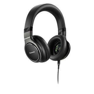 Panasonic HiRes Over-the-Ear Headphones w Mic + Controller iPhone, Android Compatible, with Travel Case