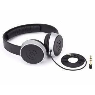 Samson Technologies SR450 Closed-Back On Ear Studio Headphones Black