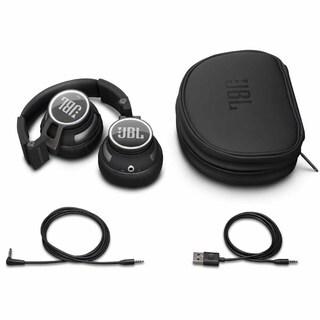 JBL Synchros S400BT Bluetooth Wireless On-Ear Stereo Headphones (Black)