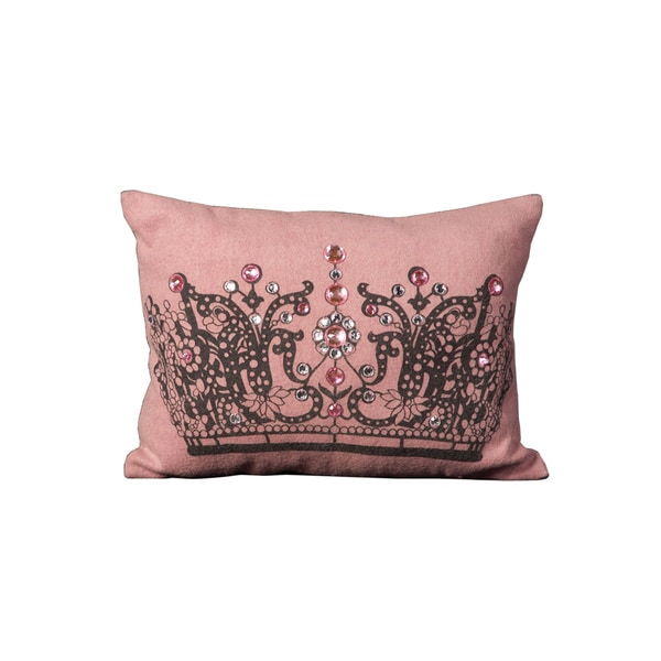 Shop Mina Victory New Generation Jeweled Crow Pink Throw
