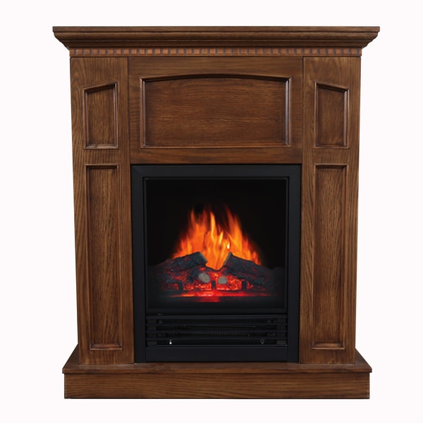 Shop Emerson Electric Fireplace Free Shipping Today Overstock