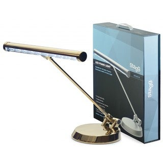 Stagg SPLED 20-1 GD Gold Metal LED Piano/ Desk Lamp