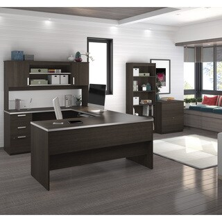 Bestar Ridgeley U-shaped Desk with lateral file and bookcase|https://ak1.ostkcdn.com/images/products/13190916/P19912294.jpg?_ostk_perf_=percv&impolicy=medium