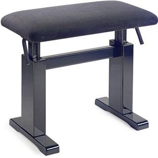 Stagg Black Hydraulic Adjustable Piano Bench
