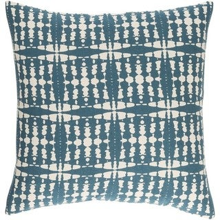 Decorative Staveley 22-inch Feather Down or Poly Filled Throw Pillow