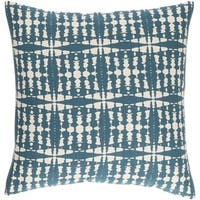 Decorative Staveley 22-inch Down or Poly Filled Throw Pillow