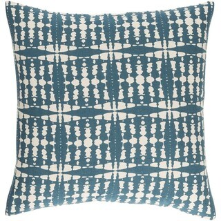 Decorative Staveley 20-inch Down or Poly Filled Throw Pillow