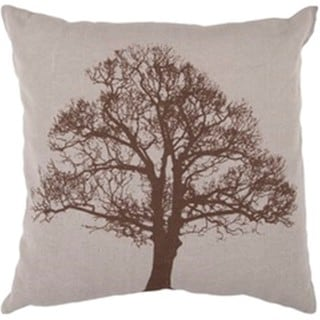 Decorative Winterthur 18-inch Down or Poly Filled Throw Pillow