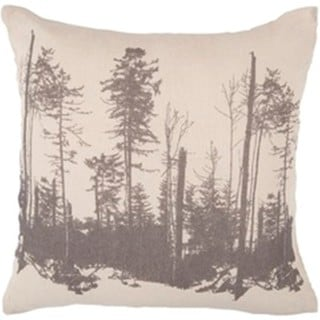 Decorative Wilmington 18-inch Feather Down or Poly Filled Throw Pillow (Down)