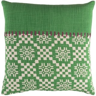 Decorative Turner 18-inch Down or Poly Filled Throw Pillow
