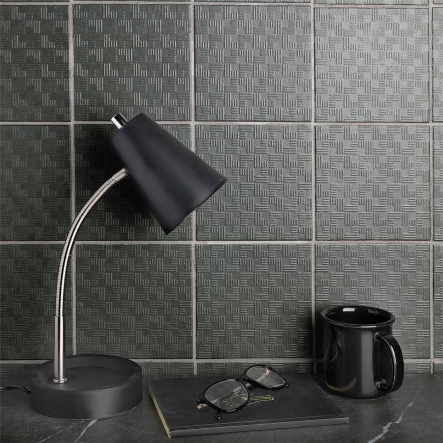 Somertile 6x6-inch Zona Graphite Porcelain Floor and Wall...