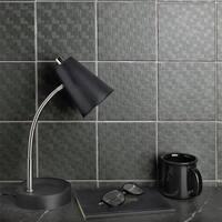 SomerTile 6x6-inch Zona Graphite Porcelain Floor and Wall Tile (44 tiles/11.94 sqft.)