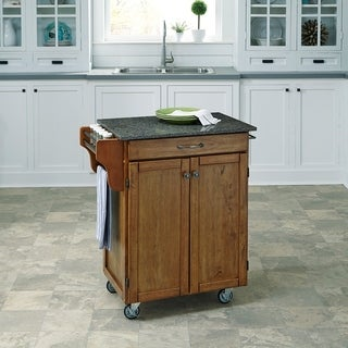 Cuisine Cart in Warm Oak Finish by Home Styles