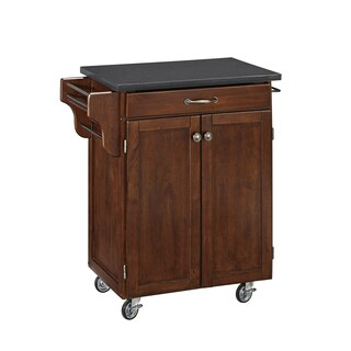 Cuisine Cart in Rustic Cherry Finish by Home Styles