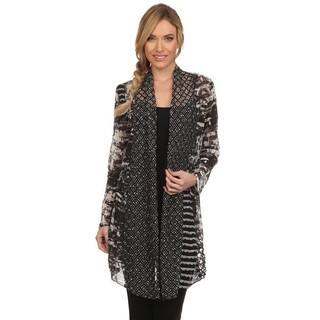 High Secret Women's Black-grey Multi-fabric Open-front Cardigan https://ak1.ostkcdn.com/images/products/13191073/P19912381.jpg?impolicy=medium
