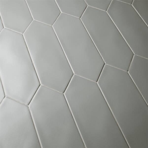 Shop Somertile 4x11 75 Inch Cometa Dark Grey Porcelain Floor