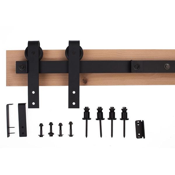Shop Bdh Flat Track Loft Style Barn Door Hardware System