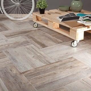 SomerTile 7.875x23.625-inch Fortaleza Cenere Ceramic Floor and Wall Tile (9/Case, 12.12 sqft.)