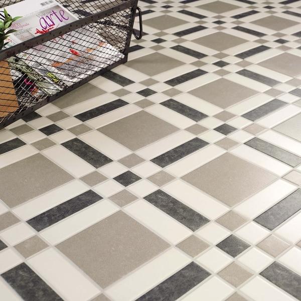 Somertile siglo pioneers porcelain floor for 16 inch floor tiles