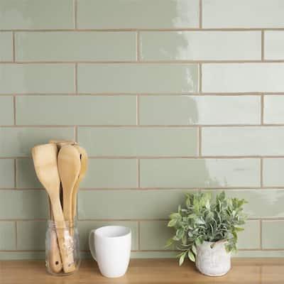 Green Backsplash Tiles Online At