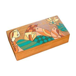 Tropical Friends Wood Box (El Salvador)