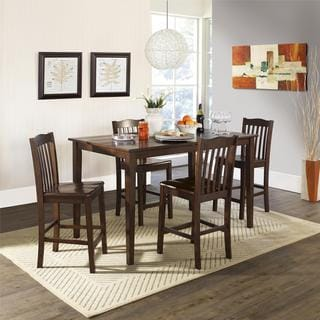 Dorel Living Brookville 5-Piece Counter Height Dining Set