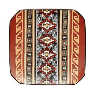 Handmade Inca Universe Cuzco Decorative Ceramic Plate (Peru)