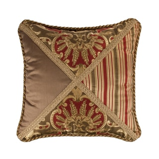 Austin Horn Classics Botticelli Pieced Luxury Throw Pillow