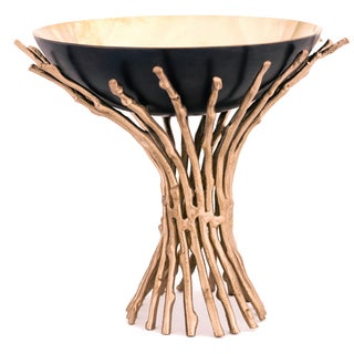Bonfire Brass 6.25-inch x 6-inch x 5.5-inch Bowl