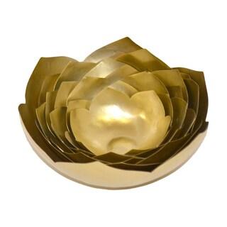 Lotus Brass Bowl