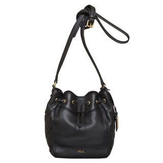 Ralph Lauren Grafton Cara Drawstring Mini Bag