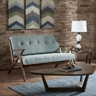 INK+IVY Rocket Light Blue Loveseat
